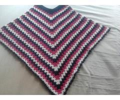 Mooie handgemaakte poncho