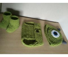 Newborn setje monster inc.