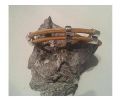 Leren armband met terminalsluiting