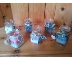 Cadeau idee handgemaakte kaarsen