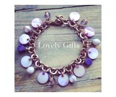 Bedel Armband - Copper Purple