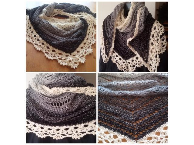 Royale sjaal/omslagdoek