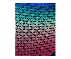 Kleurige originele omslagdoek