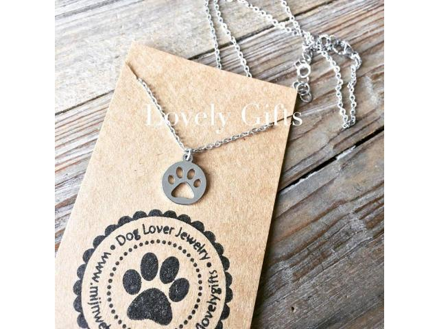 Dog Lover - Ketting Kort Paw