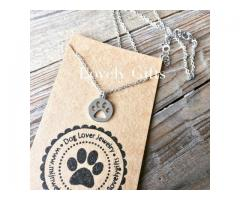 Dog Lover - Ketting Kort Paw