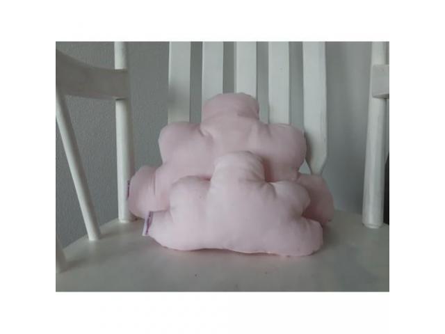Wolkenkussen Licht roze set
