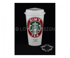 Starbucks beker met naam