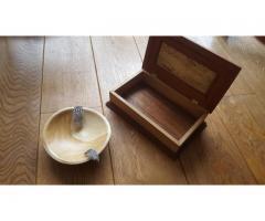 Gedraadt houten schaaltje
