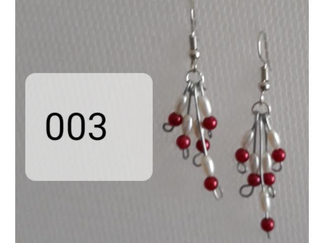 003 pareltjes  rood