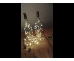 (Drank)flessen met 20 ledlampjes