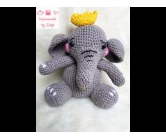 Odin de olifant  - Gehaakte knuffel