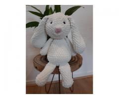 Handgemaakte knuffel konijn