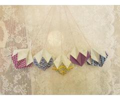 Origami decoratie