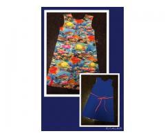 Vrolijke vissen jurk