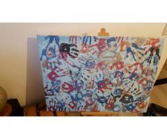 Handjes schilderij