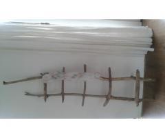 Drijfhout ladder