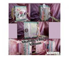 Shabby chic scrapbook