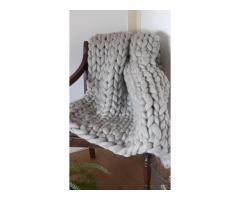 Dikke deken van lontwol