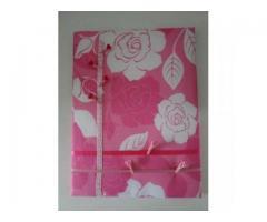 Memobord Bloem roze