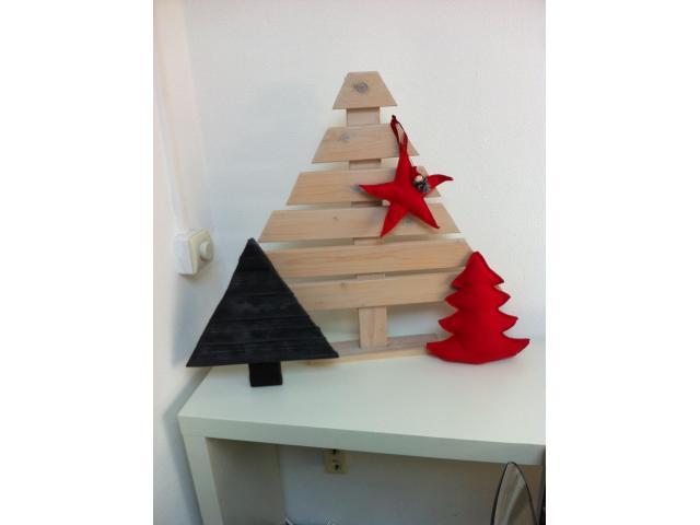 Houten kerstboompje