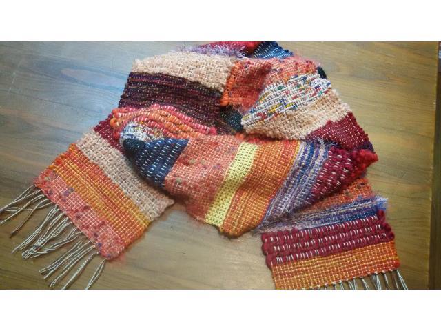 handgeweven sjaal