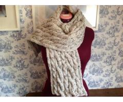 Handgebreide sjaals